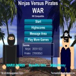 Ninjas Versus Pirates War
