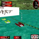 3D POWER BOAT RACING